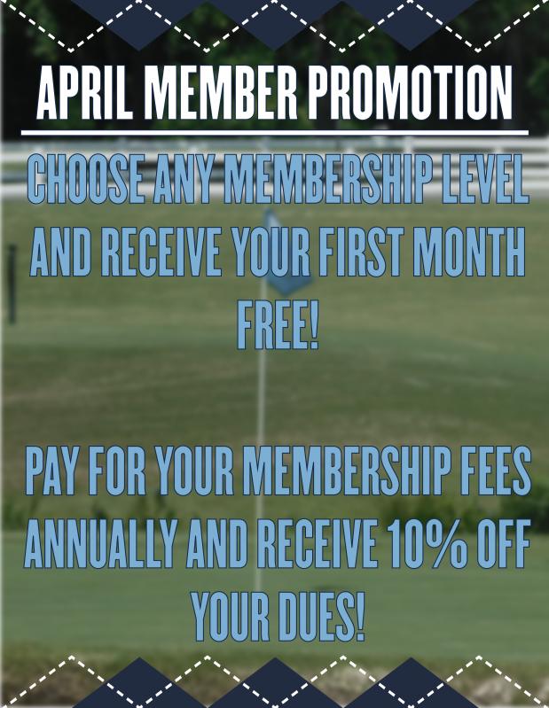 2019 April Member Promotions